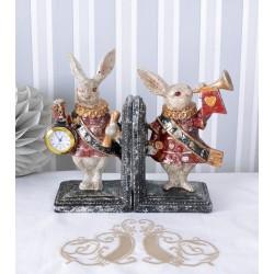 Set doua suporturi pentru carti cu doi iepuri