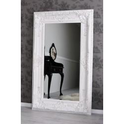 Oglinda monumentala alba antichizata