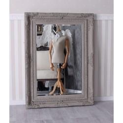 Oglinda Shabby Chic gri antichizata