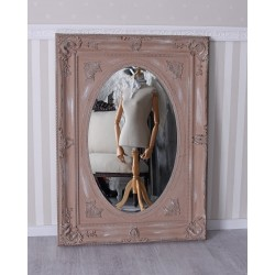 Oglinda Shabby  Chic cu rama maro antichizata