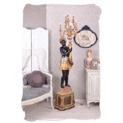 Lampa venetiana dreapta cu sase brate tip lumanare