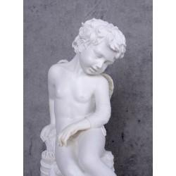 Statueta nostalgica cu un ingeras