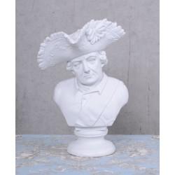 Bust Frederic cel mare-statueta nostalgica din rasini