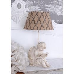 Lampa cu un ingeras antichizat