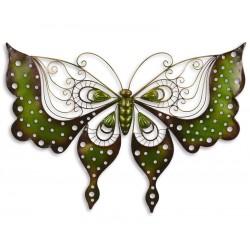 Decoratiune din fier forjat cu un fluture din gradina