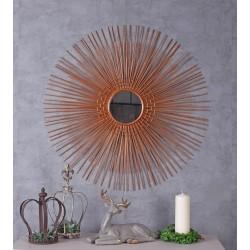 Oglinda soare cu rama din cupru