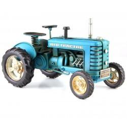 Model de tractor albastru