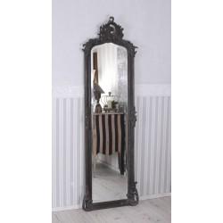 Oglinda Judgenstill din cristal cu o rama neagra