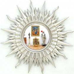 Oglinda din cristal cu un soare