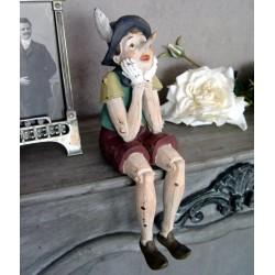 Pinochio din rasini speciale